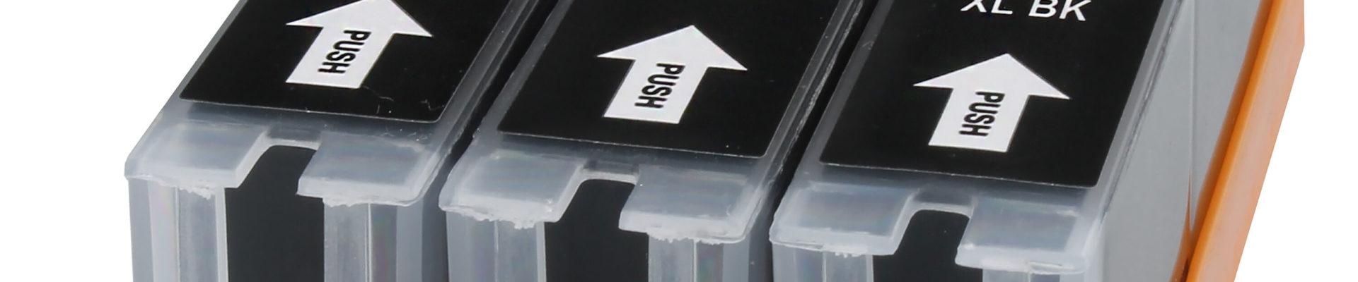 3-pack Huismerk inktcartridges voor Canon PGI-570